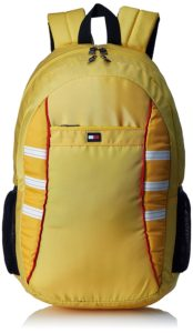 Amazon - Buy Tommy Hilfiger 22.32 Ltrs Yellow Laptop Backpack at Rs 708 only