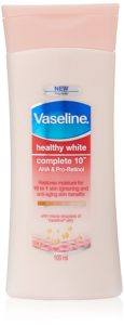 Amazon - Buy Vaseline Healthy White Complete 10 Body Lotion, 100 ml at Rs 104