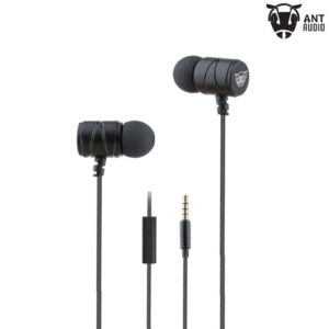 Ant Audio W54B In-Ear Headphones with Mic (Black)