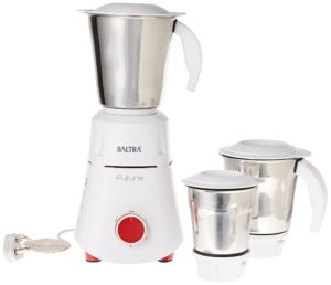 Baltra Future BMG-125 550-Watt Mixer Grinder with 3 Jars