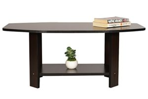 DeckUp Dusun Coffee Table (Dark Wenge, Matte Finish)