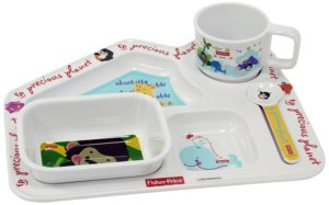 Fisher Price Precious Planet House Shaped Kids Dinner Gift Set