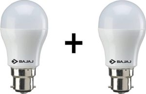 Flipkart - Buy Bajaj 7 W B22 LED Bulb  (White, Pack of 2) at Rs 149 only