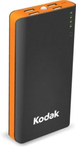 Flipkart - Buy Kodak 15000 mAh Power Bank (Black,Orange, Lithium-ion) at Rs 899 only