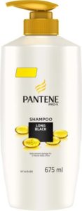 Flipkart - Buy Pantene Long Black Shampoo (675 ml) at Rs 254 only