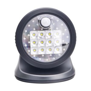 Fulcrum 20034-104 Wireless 12 LED Porch Light (Charcoal)