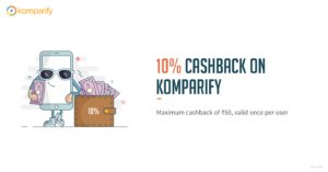 Komparify Freecharge Offer