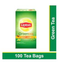 Lipton Honey Lemon Green Tea Bags 100 pcs
