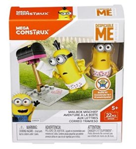 Mega Despicable Me Mailbox Mischief, Multi Color at rs.133