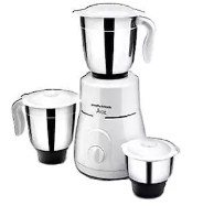Morphy Richards Ace Plus 750 W Mixer Grinder (White/3 Jars)