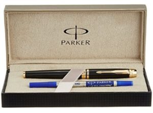 Parker Odyssey Laque Black Roller Ball Pen