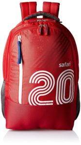 Safari 27 Ltrs Red Casual Backpack