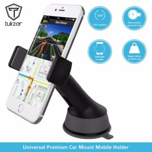 Tukzer TZ-AC-104 Universal Car Mount Mobile Holder Stand