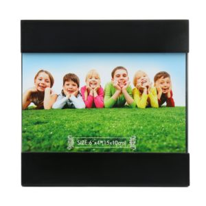 Amazon- Buy @home MDF Photo Frame (2.29 cm x 15.2 cm x 14.8 cm, Black) at Rs 137