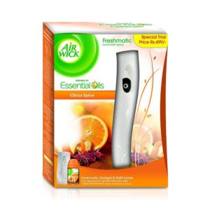 Amazon- Buy Airwick Fresh Matic Complete Kit Citrus Spice