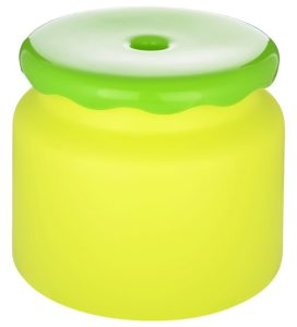 Amazon- Buy All Time Frosty Plastic Bathroom Stool Green at Rs 135