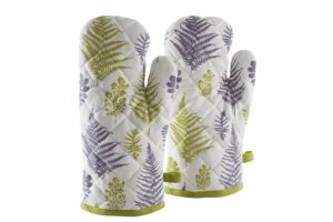 Amazon- Buy Amazon Brand-Solimo 100% Cotton Padded Oven Gloves,(Pack of 2, White) at Rs 149