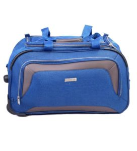 Amazon- Buy Aristocrat Polyester 67 cms Blue Travel Duffle  at Rs 1929