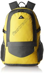 Amazon- Buy Fastrack 35 Ltrs Yellow Casual Backpack