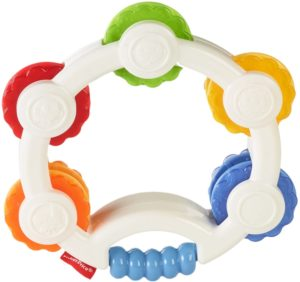 Amazon- Buy Fisher Price Shake 'n Beats Tambourine, Multi Color at Rs 259