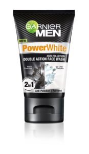 Amazon- Buy Garnier Men Face Wash Power White Double Action, 100g at Rs 135