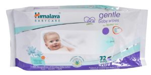 Amazon- Buy Himalaya gentle Baby Wipes (72Napkins of 2 packs) at Rs 179