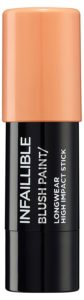 Amazon- Buy L'Oréal Paris Infallible Chubby Blush Paint, 02 Tangerine Please, 7g at Rs 442