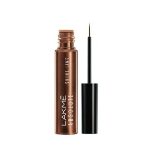 Amazon- Buy Lakme Absolute Shine Line Eye Liner, Shimmer Bronze, 4.5 ml at Rs 249