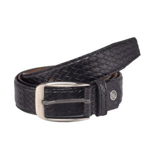 Amazon- Buy Laurels Titan Black Color Men's Belt at Rs 199