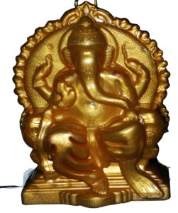 Amazon- Buy Lexton DPL-14 4-Watt Lighting Ganesha Idol (Gold) at Rs 71