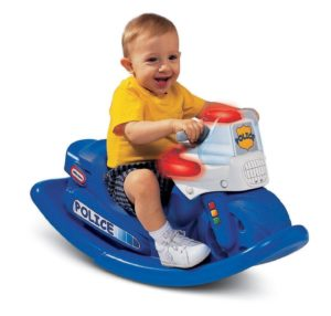 Amazon- Buy Little Tikes Police Cycle Sounds Rocker