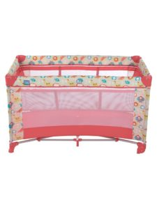 Amazon- Buy Mee Mee Compact 2 in 1 Play Pen and Crib, Peach at Rs 2977