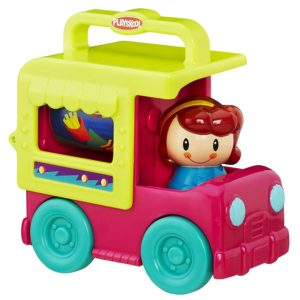 Amazon - Buy Playskool Fold 'N Roll Trucks Ice Cream Truck, Multi Color at Rs. 240