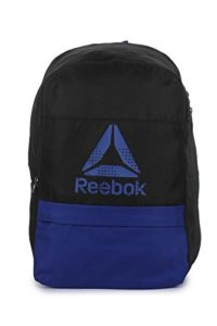 Amazon- Buy Reebok Synthetic 28 cms Black Children'S Backpack at Rs 600