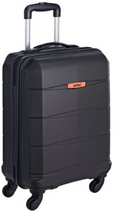 Amazon- Buy Safari Poly-carbonate 56 Ltrs Black Hardsided Carry On  at Rs 2009