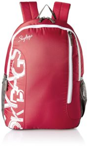 Amazon- Buy Skybags Red Casual Backpack at Rs 598