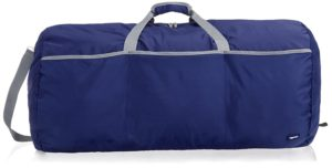 AmazonBasics 98 Ltrs Large Duffel Bag, Navy