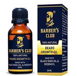 Barber's Club Beard Growth Oil with Black Seed Oil - 30 ml at rs.292