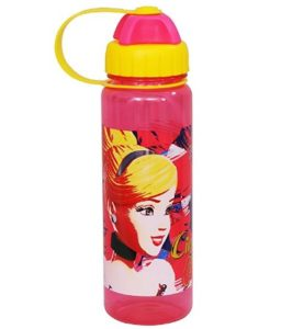 Disney Cinderella Plastic Sipper Bottle, 550ml at rs.110