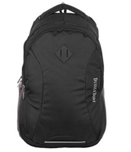 Dussledorf Classic Polyester 30 Liters Red Black Cover With Laptop Backpack at rs.399