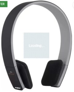 Envent BoomBud ET-BTHD001-BK Bluetooth Headphone  (Black, On the Ear)