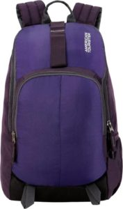 Flipkart- Buy American Tourister AMT Fit Pack Gym 21 L Backpack (Purple) at Rs 556