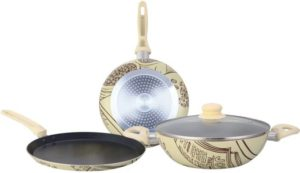 Flipkart- Buy Wonderchef Picasso Induction Bottom Cookware Set