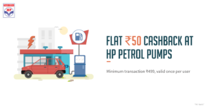 Freecharge HP Petrol Pumps
