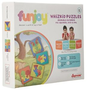 Funjoy Animals and Birds - Pig, Squirrel, Duck, Owl at rs.95