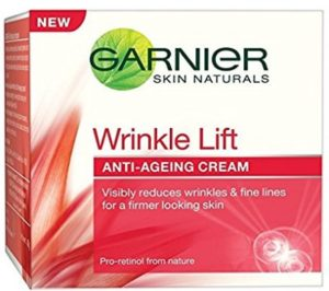 Garnier Skin Naturals Wrinkle Lift Anti-Ageing Cream (40g) at rs.158