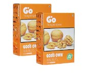 Go Organic Light Broken Walnuts Kernels 250 gm Pack of 2