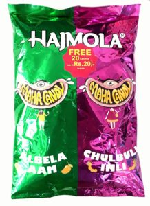 Amazon - Buy Hajmola Maha Candy Pouch, Aam and Imli, 455g (130 Pieces) at Rs. 104