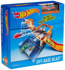 Hot Wheels Sky Base Blast Play Set, Multi Color