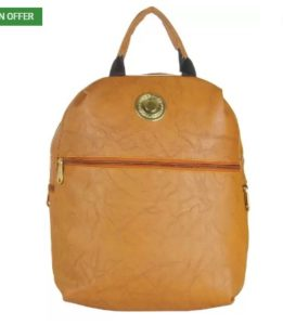 JG Shoppe JGCasualsBC04 9 L Backpack  (Brown) at rs.281